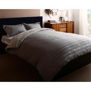 冬の高級ホテル柄 掛け布団カバー の単品 シングル 色-シルバーアッシュ /暖かい 洗える