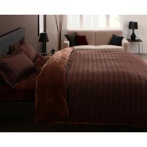 上質マイクロファイバー ベッド用 ボックスシーツ の単品(マットレス用カバー) シングル 色-モカブ...