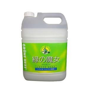 緑の魔女 キッチン用洗剤 業務用 5L_/sgktb-1029065|kaitekibituuhan