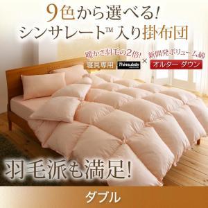 掛け布団 単品 ダブル / 暖かい 軽い シンサレート高機能中綿素材入り kaitekibituuhan