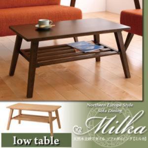 天然木北欧スタイル ソファダイニング Milka ミルカ ローテーブル W80 kaitekibituuhan