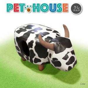 *商品名 ・Pet House ウシ  *サイズ/寸法 ・W620mmxD340mmxH400mm ...