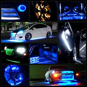 Kaito21015 防水RGB LEDテープライト単体 (12V/100V兼用) 300cm 【多色発光タイプ】|kaito-shop2011|06