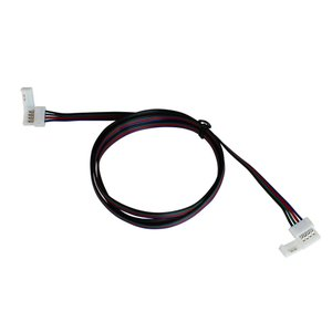Kaito5577(1個) 10mm 非防水 RGBテープライト用 接続ケーブル+コネクタ 両端子 1M|kaito-shop2011