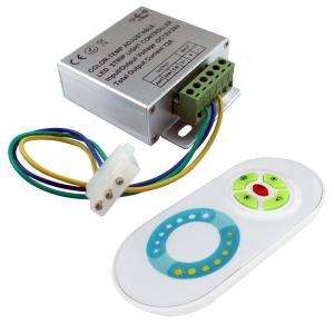 2色LEDテープライト用 コントローラ 12A 【タッチセンサ方式RFリモコン付】|kaito-shop2011