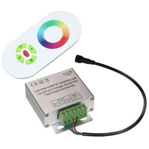 [RGBテープライトの調光に] 6Ax3 RGBコントロールユニット【タッチセンサ方式RFリモコン付】 [1セット] kaito-shop2011