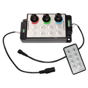[RGBテープライトの調光に] 6Ax3 ボリューム式RGBコントロールユニット [1セット] kaito-shop2011