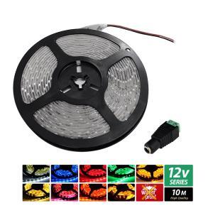 【ハイクオリティ】非防水 LEDインテリアテープライト 1チップ 単体 (100V/12V兼用) 10M|kaito-shop2011