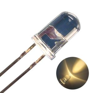 Kaito1221(100個) LED 砲弾型 5mm 電球色 16000〜18000mcd kaito-shop