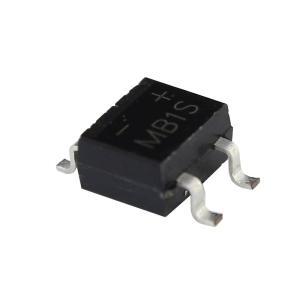 Kaito7717(100個) ブリッジダイオード整流器 MB1S 100V 500mA (SOIC...