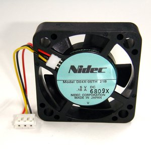 D04X-05TH-21B(1個) 冷却ファン D04X-05TH-21B 5V/0.16A [NIDEC] kaito-shop