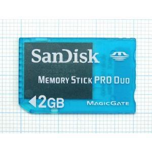 【送料無料】【中古】PSP サンディスク メモリースティック PROデュオ 2GB 本体 クリアブルー|kaitoriheroes2