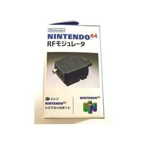 【送料無料】【中古】N64 任天堂64 RFモジュレータ (N64専用) N64(箱説付き) kaitoriheroes2