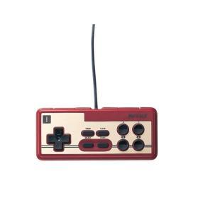 【送料無料】【中古】PC iBUFFALO USB接続 8ボタンゲームパッド デジタル 連射機能付 ファミコン風 レッド BGCFC801RDA バッファロー コントローラー kaitoriheroes2
