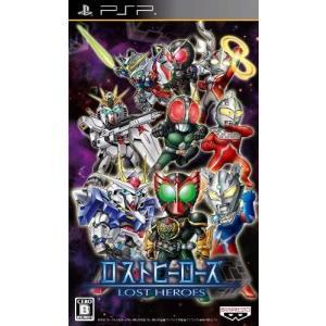 【送料無料】【中古】PSP ロストヒーローズ プレイステーションポータブル kaitoriheroes2