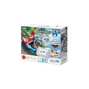 【送料無料】【中古】Wii U マリオカート8 セット シロ 任天堂 本体|kaitoriheroes2
