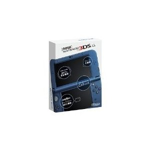 【訳あり】【送料無料】【中古】3DS Newニンテンドー3DS LL メタリックブルー|kaitoriheroes2