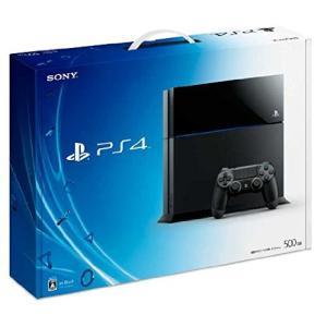 【送料無料】【中古】PS4 PlayStation 4 ジェット・ブラック 500GB (CUH-1000AB01) プレイステーション4 プレステ4(箱説付き)|kaitoriheroes2