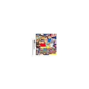 【送料無料】【中古】DS クレヨンしんちゃん 嵐を呼ぶ シネマランド カチンコガチンコ大活劇! kaitoriheroes2