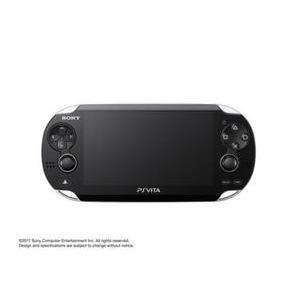 【送料無料】【中古】PlayStation Vita 3G/Wi‐Fiモデル クリスタル・ブラック (PCH-1100) 本体 プレイステーション ヴィータ kaitoriheroes2