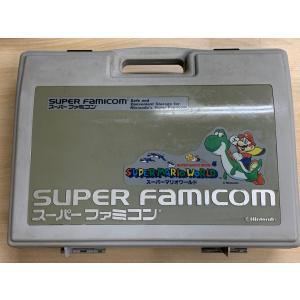 【送料無料】【中古】SFC スーパーファミコン 本体 収納ケース バック 任天堂 本体 マリオ kaitoriheroes2