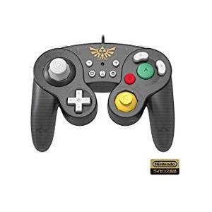 【訳あり】【送料無料】【中古】Nintendo Switch ホリ クラシックコントローラー for Nintendo Switch ゼルダ|kaitoriheroes2