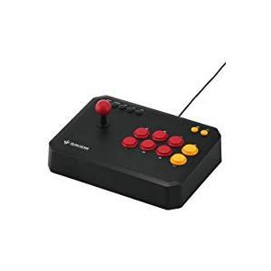 バッファロー USBアーケードスティックPC/PS3対応 13ボタンタイプ BSGPAC01BKの商品画像|ナビ