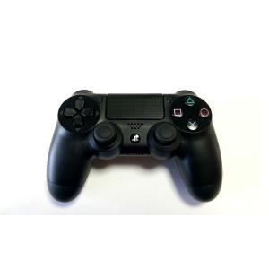 【送料無料】【中古】PS4 ワイヤレスコントローラー (DUALSHOCK 4) ジェット・ブラック プレイステーション4 プレステ4|kaitoriheroes2