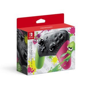 【訳あり】【送料無料】【中古】Nintendo Switch Proコントローラー スプラトゥーン2エディション|kaitoriheroes2