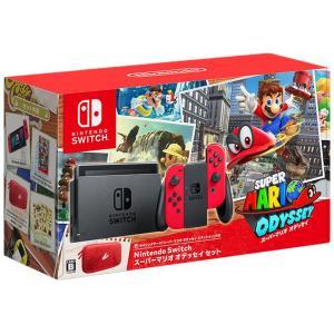 【送料無料】【中古】Nintendo Switch スーパーマリオ オデッセイセット ニンテンドース...