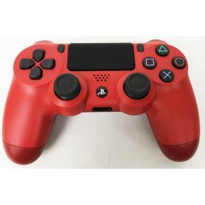 【送料無料】【中古】PS4 PlayStation 4 ワイヤレスコントローラー (DUALSHOCK 4) マグマ・レッド (CUH-ZCT2J11)|kaitoriheroes2