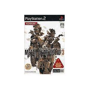 【送料無料】【中古】PS2 メタルギア ソリッド 3 スネークイーター|kaitoriheroes2