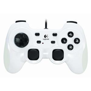 【送料無料】【中古】PC ロジクール ゲームパッド Rumble Pad 2 ランブルパッド2 G-UF13 ホワイト コントローラー|kaitoriheroes2