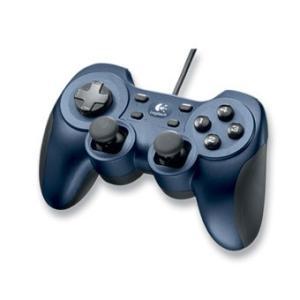 【送料無料】【中古】PC ロジクール ゲームパッド Rumble Pad 2 ランブルパッド2 G-UF13 メタリックブルー コントローラー|kaitoriheroes2