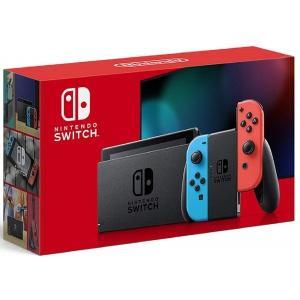 【送料無料】【中古】Nintendo Switch (ニンテンドースイッチ) Joy-Con(L) ネオンブルー/(R) ネオンレッド(バッテリー持続時間が長くなったモデル)(箱付き)|kaitoriheroes2