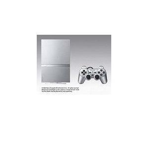 【欠品あり】【送料無料】PS2 プレイステーション2 PlayStation 2 サテン・シルバー (SCPH-79000SS) 本体|kaitoriheroes