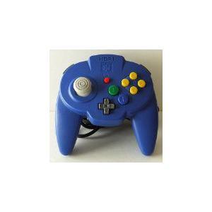 【送料無料】N64 任天堂64 ホリパッドミニ64 ブルー コントローラー kaitoriheroes