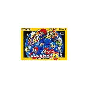 【送料無料】FC ファミコンロックマン6|kaitoriheroes