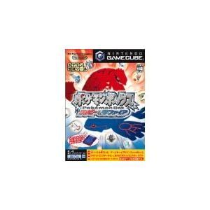 【送料無料】GC ゲームキューブ ポケモンボックス ルビー&サファイア (内箱説付き)|kaitoriheroes