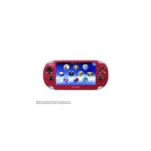 【送料無料】PlayStationVita Wi-Fiモデル コズミック・レッド (PCH-1000 ZA03) 本体 プレイステーション ヴィータ(箱説つき)|kaitoriheroes