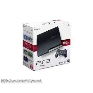 【送料無料】PS3 PlayStation 3 プレイステーション3 (160GB) チャコール・ブラック (CECH-2500A) 本体(箱説付き)|kaitoriheroes