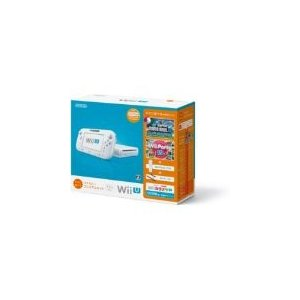 【訳あり】【送料無料】【中古】Wii U すぐに遊べるファミリープレミアムセット(シロ) 白 任天堂 本体(マリオU、パーティーU内蔵) kaitoriheroes