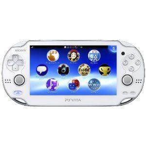 【送料無料】PlayStation Vita (プレイステーション ヴィータ) 3G/Wi‐Fiモデル クリスタル・ホワイト (PCH-1100) 本体|kaitoriheroes