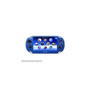 PlayStation Vita (プレイステーション ヴィータ) サファイア・ブルー (PCH-1000 ZA04) 本体