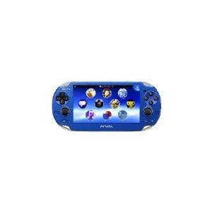 【送料無料】PlayStationVita 3G/Wi-Fiモデル サファイア・ブルー (PCH-1100 AB04) 本体 プレイステーション ヴィータ|kaitoriheroes
