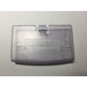 【送料無料】【新品】GBA ゲームボーイアドバンス 電池カバー クリアパープル フタ 蓋|kaitoriheroes