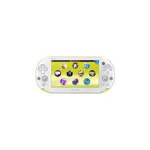 【送料無料】PlayStation Vita Wi-Fiモデル ライムグリーン/ホワイト (PCH-2000ZA13) 本体 プレイステーション ヴィータ|kaitoriheroes