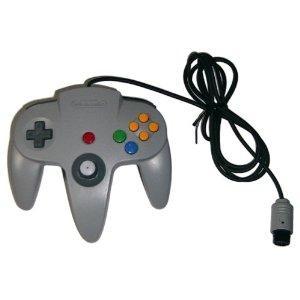 【送料無料】N64 任天堂64 コントローラーBros.グレー N64 ブロス|kaitoriheroes