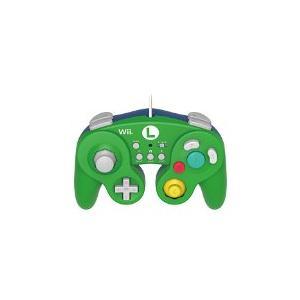 【送料無料】【中古】Wii U 【Wii U/Wii対応】ホリ クラシックコントローラー for Wii U ルイージ 任天堂|kaitoriheroes
