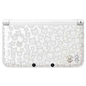【送料無料】【中古】3DS ニンテンドー3DS LL モンスターハンター4 スペシャルパック (アイルーホワイト) 本体 kaitoriheroes